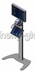 Напольная букмекерская стойка для 2-х мониторов