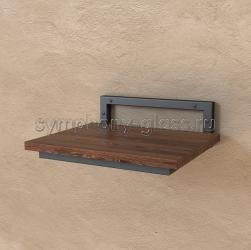 Деревянный настенный кронштейн для винилового проигрывателя