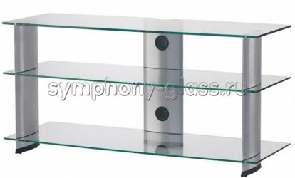 Тумба из стекла и металла Sonorous PL 3100