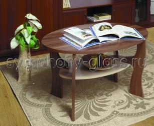 Овальный журнальный стол Majesta-4