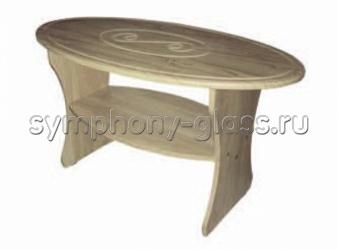 Журнальный стол Мебельный Двор СЖ-7