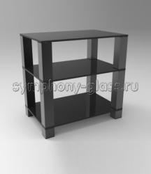 Стойка для аппаратуры Стекло Металл ТК 60.3|4