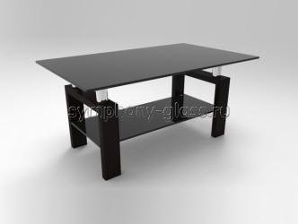 Оригинальный стеклянный стол Стекло Металл Лигнум