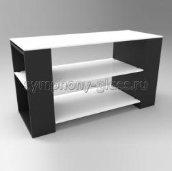 ТВ подставка цвет венге Стекло Металл ВК 100 - 110