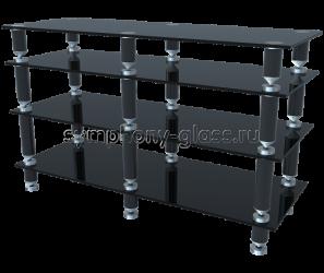 Стойка для аппаратуры на конусах G-Met Эверест-1200-4