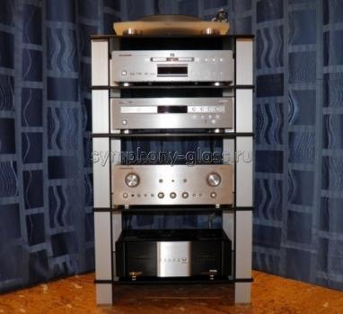 Высокая стойка для аппаратуры G-Met ТВК-5.650 (5 полок)