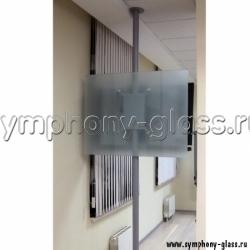 Распорный кронштейн с декоративным стеклом