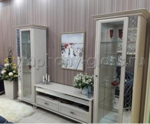 Белый набор мебели Сильва Элисон