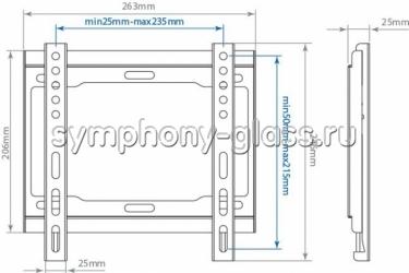 Кронштейн Arm media Steel-5