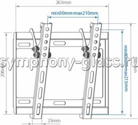 Кронштейн Arm media Steel-6