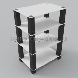 Стойка для аппаратуры Стекло Металл ТК 60.4|4
