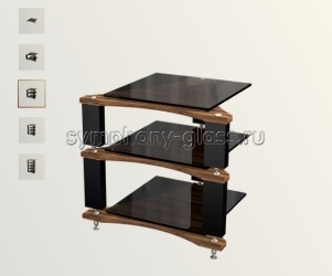 Профессиональная стойка для high-end VOX Module S-001 Basic - 3 модуля