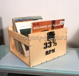 Стойка для хранения виниловых пластинок VOX Module VINYL STAND 03